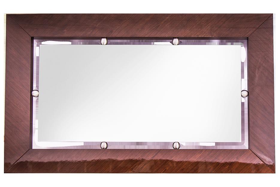 Espejo marco espejo antes y despues del espejo cmoda y for Espejos con marco de madera blanco