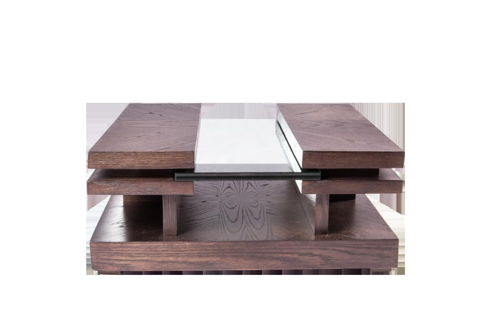Mesa auxiliar t cristal jamaica muebles beity - Mesas auxiliares de cristal ...